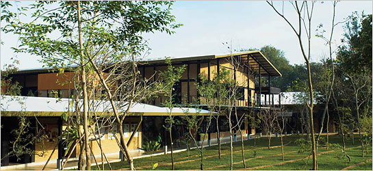 Case Studies Green Building Centre Little Tree Bali